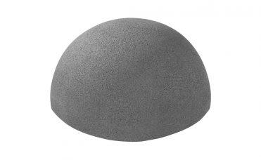Halvball grå fra Euroflex 345 mm