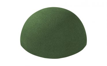 Halvball grønn 500 mm