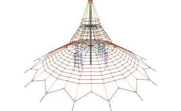 Klatrenett spacenett 560cm