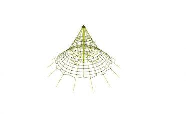 Nettpyramide 4,3 meter høyt