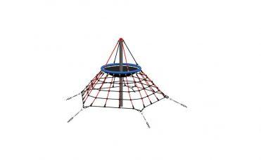 Nettpyramide 2,2 meter høy