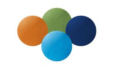gummiball fra Kraiburg i spesialfarger