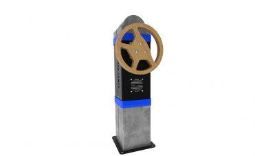 Kinetic Wheel Bilratt Blå - interaktiv lek