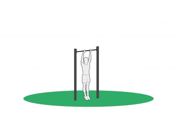 Pull Up stativ for utendørs trening