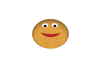 emoji smiley gul i 3D