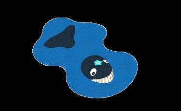 Fontene 3D hval for lekeplassen