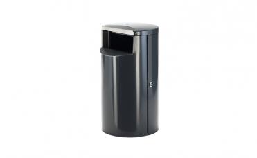 Avfallsbeholder 30 liter i rustfritt stål