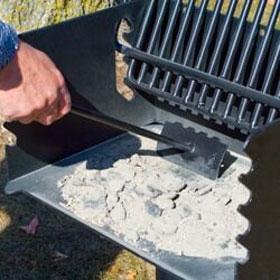 Grill og grillrist skrape for enkel rengjøring