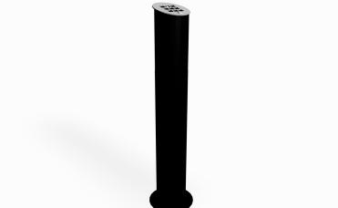askebeger høyde 20 cm som overflatemonteres