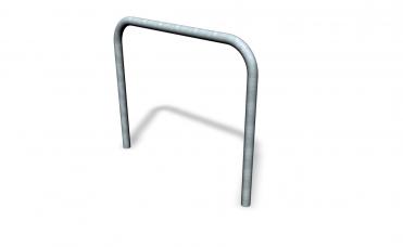 Rektangulær sykkelstativ av varmgalvanisert stål