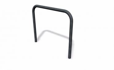 sykkelstativ svallet galvanisert og pulverlakkert stålramme