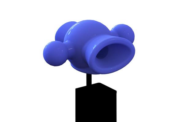 Megafon som tilbehør lekeseksjon lekeplass